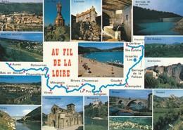CARTE GEOGRAPHIQUE DE LA  LOIRE - Francia