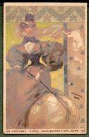Chromo CACAO PAYRAUD - Costumes Renaissance à Nos Jours - AMAZONE 1825 - Chromos