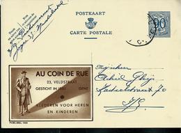 Publibel Obl. N° 1100  ( AU COIN DE RUE Vêtements - Gent) Obl. - Stamped Stationery