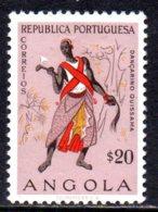 1957, Angola, Folklore, Danseur - Angola