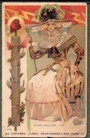 Chromo CACAO PAYRAUD - Costumes Renaissance à Nos Jours - Modes Anglaises 1793 - Chromos