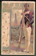 Chromo - Costumes Renaissance à Nos Jours - Grenadier 1814 - Chromos