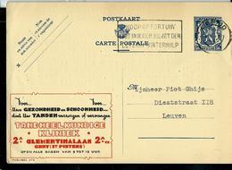 Publibel Obl. N° 479  ( Clinique Dentaire  - Gent) Obl. Gent 20/10/1942 - Stamped Stationery