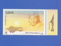 FRANCE PA 67a NEUF ** MARIE MARVINGT AVEC BORD DE FEUILLE - 1960-.... Nuevos