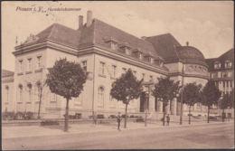 AK Plauen Handelskammer Marinepost, Gelaufen 1916 - Plauen