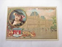 Chromo Belle Jardiniere Beriot Lille_PARIS_LE LOUVRE_Ministere Des Finances - Tea & Coffee Manufacturers