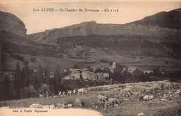 CPA LES ALPES - St Geniez De Dromon Alt 1116 - Andere Gemeenten