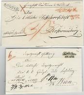 "1932, 1849, "" ST. PÖLTEN "" , 2 Briefe , A3455 - Autriche"