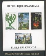 RWANDA  **.  Bloc De 1998.  Cote  26,-euros - 1990-99: Neufs