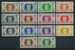 WALLIS ET FUTUNA 1944 . Série N°s 133 à 146 . Neufs ** (MNH) . - Wallis-Et-Futuna