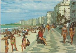 CPM  Brésil Rio De Janeiro  Plage Copacabana - Rio De Janeiro