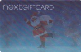 Gift Card - - - UK - - - Santa Claus Lenticular - Gift Cards