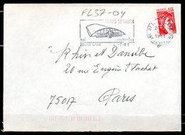 FL37-04 : Dept 37 (Indre-et-Loire) TOURS GARE 1981 > FG Illustrée / Foires De TOURS - Postmark Collection (Covers)