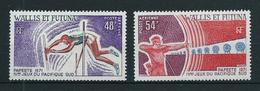 WALLIS ET FUTUNA 1971 . Poste Aérienne  N°s 39 Et 40 . Neufs  ** (MNH) . - Neufs