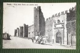 Cartolina - Viterbo - Porta Della Verità Con Antiche Mura - 1916 - Viterbo