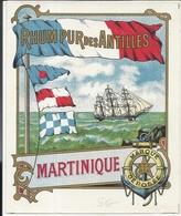ETIQUETTE RHUM ANTILLES - Publicités