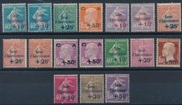 """DK-182: FRANCE: Lot   Avec """"Caisse D'amortissement"""" * N°246(2)-247/48-249(2)-250(3)-251(2)-253/255-266/268 - Unused Stamps"""
