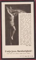 Theresia Broeckx Petrus Cole Melsele Kruibeke 1934 Doodsprentje Bidprentje Image Mortuaire - Devotion Images
