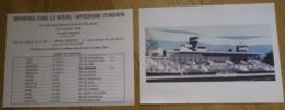 Prospectus Nouvel Hippodrome D' Enghien Les Bains Calendrier Des Internationaux 1989 - PMU Course Hippique Tiercé. - Sport & Tourismus