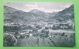Cartolina - Aosta - Panorama - 1920 Ca. - Unclassified