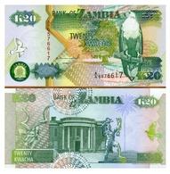 Billet Zambie 20 Kwatcha - Zambie