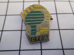 716c Pin's Pins / Beau Et Rare / THEME : MARQUES / CTBA Par METARGENT - Marques