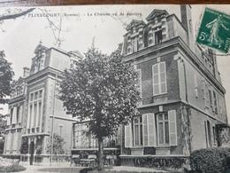 FLIXECOURT  LE CHATEAU VU DE DERRIERE - Flixecourt
