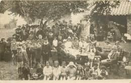 LAURENS  Fete Au Village - Carte Photo - - Autres Communes