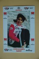 CYCLISME: CYCLISTE : ANNE ELIZABETH SANT - Ciclismo
