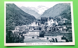 Cartolina - Chatillon ( Valle D'Aosta ) - Panorama - 1920 Ca. - Unclassified