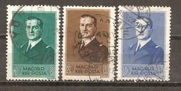 Hungría-Hungary Nº Yvert 506-08 (usado) (o) - Gebruikt