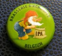Belgique Capsule Bière Beer Crown Cap Brasserie D'Achouffe Houblon Chouffe IPA - Bière