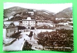 Cartolina - S. Giuliano Terme - Veduta Degli Stabilimenti Termali - 1933 - Pisa
