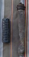 Lot Corps De Grenade Petard Raquette Et Manche Allemand WWI - Armi Da Collezione