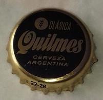 Argentine Capsule Bière Beer Crown Cap Clasica Quilmes Cerveza Argentina - Bière