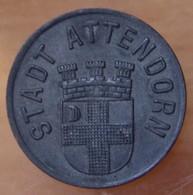 Allemagne - Ville ATTENDORN 10 Pfennig 1917 - [ 2] 1871-1918 : Duitse Rijk