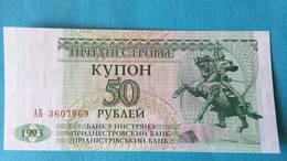 Billet Transnistrie - Moldavie 50 Rouble - Moldavie