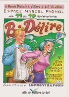 SOLE Jean - Bande Dessinée B Delire Villiers Le Bel - CPM 10,5x15 TBE 1995 Neuve - Künstlerkarten