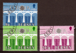 Jersey  Europa Cept 1984 Gestempeld  Fine Used - 1984
