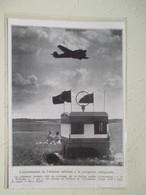 Entrainement De L'aviation Allemande  à La  Navigation Radioguidée Avec Junkers  -  Coupure De Presse De 1935 - Appareils