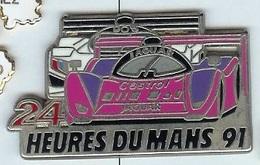 @@ Course 24H Du Mans 1991 Jaguar Et 905 Peugeot Castrol (dbl.attaches 2.4x4.2) @@aut202 - Jaguar