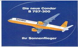 Aufkleber CONDOR - Boeing 757-300 - Stickers