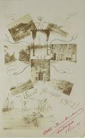 """""""Neujahr, Fotokarte, Frosch, Jahreszahl"""" 1902  ♥ (13178) - Nieuwjaar"""
