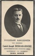 DP. CAMIEL DEBRABANDERE °BISSEGEM 1881- + ANTWERPEN 1938 - BURGEMEESTER VAN MOEN - Godsdienst & Esoterisme