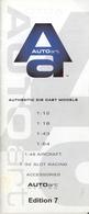 Catalogue AUTO ART Car Models 1/12 1/18 1/45 1/45 Aircraft 1/48 Slot 1/32 Ed 7 - Catalogues & Prospectus