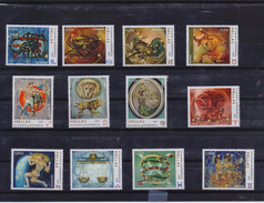 GREECE STAMPS 2007/ZODIAC-25/5/07-MNH-COMPLETE  SET - Astrologie