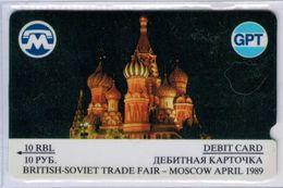 GPT - British - Soviet Trade Fair 1989 - 10 RBL - 2GPTA002935 - Voir Scans - Russia