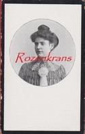 Maria Van Hoof Richard Goedhuys Antwerpen Borgerhout 1916 Bidprentje Doodsprentje Image Mortuaire - Devotion Images