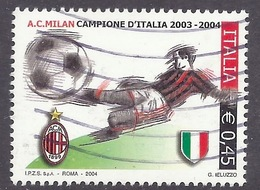 Italia / Italy - 2004 Milan Campione D'Italia, Italian Championship Winner, Sport, Football, Used - 2001-10: Usados
