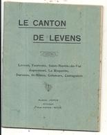 LE CANTON DE LEVENS PARPAUL CANESTRIER .TOURRETTE ST MARTIN . COLOMARS ... - Histoire
